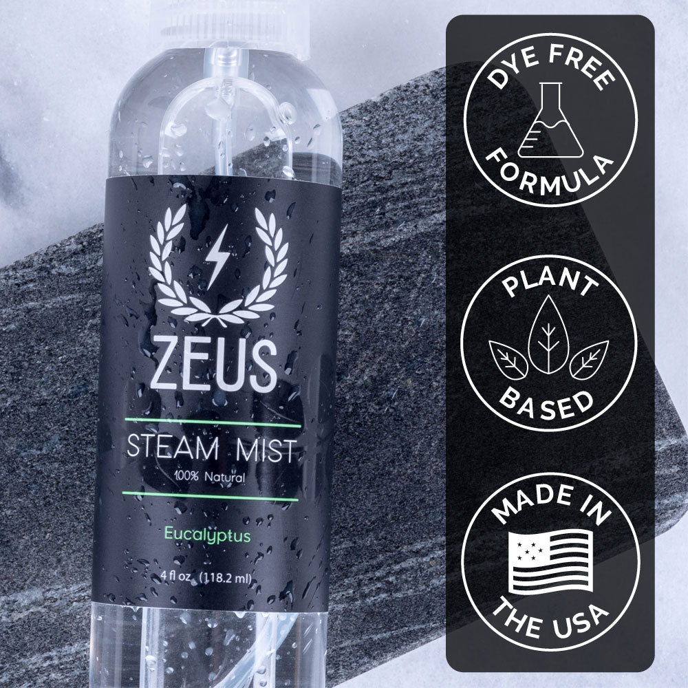Zeus Eucalyptus Steam Mist, 4 fl oz