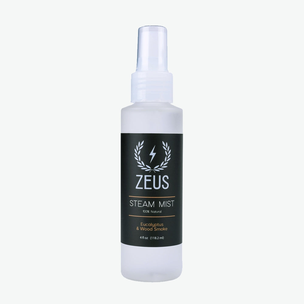 Zeus Eucalyptus & Wood Smoke Steam Mist, 4 fl oz
