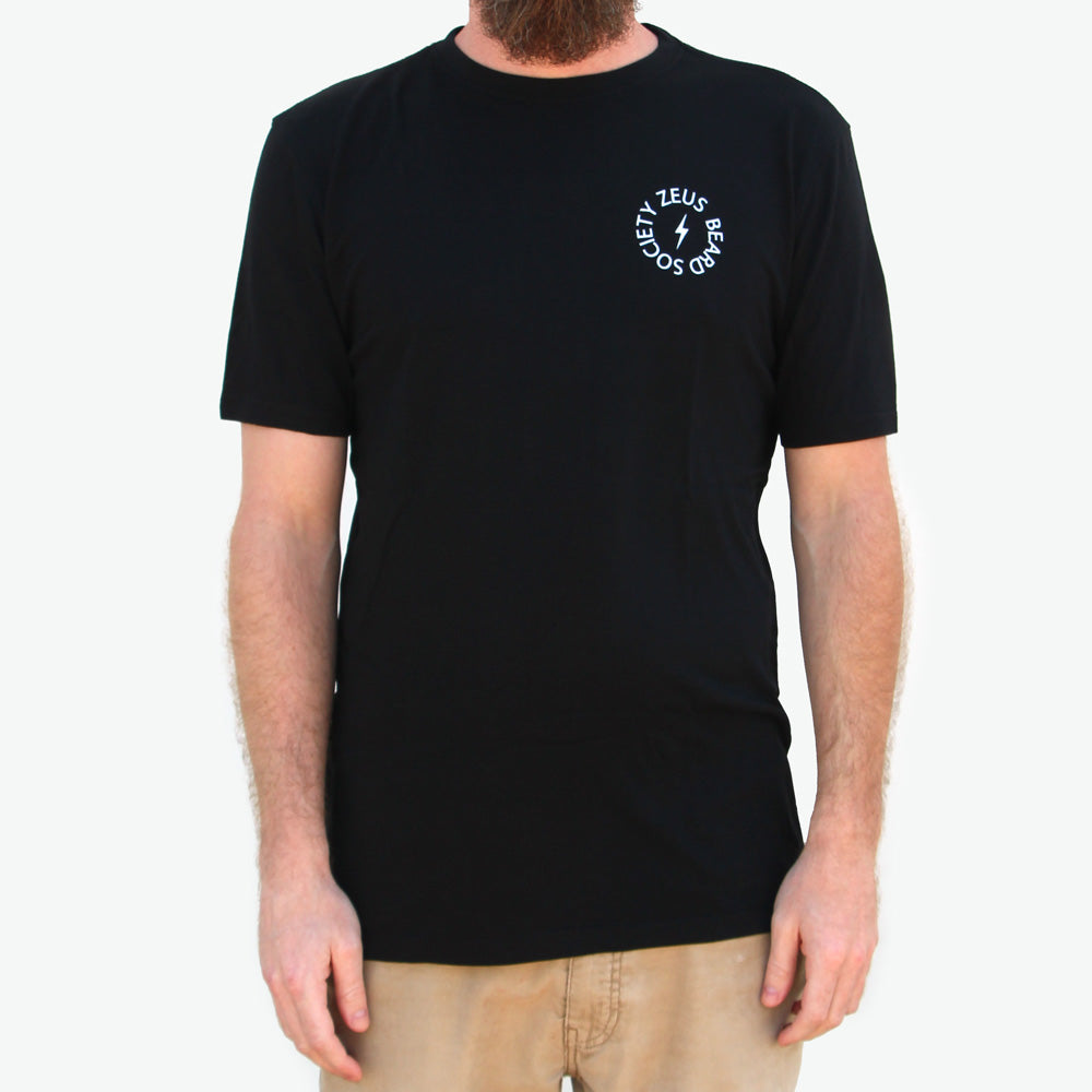 "Organic Bamboo ""Beard Society"" T-Shirt - 6 Units - Case"