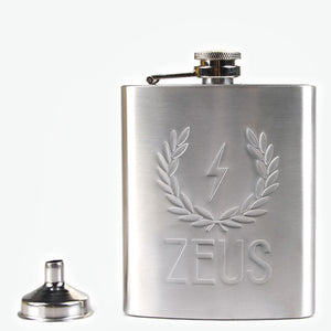 Load image into Gallery viewer, Zeus Stainless Steel Hip Flask and Funnel Set