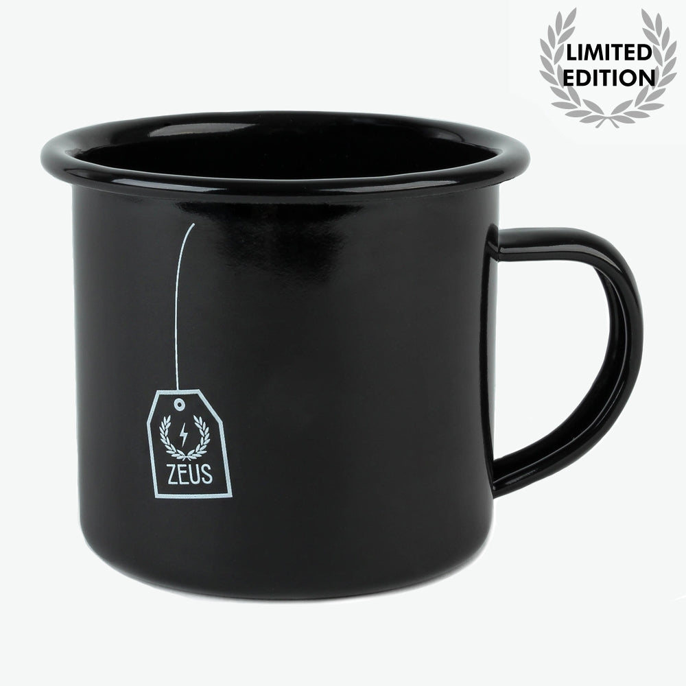 Load image into Gallery viewer, Zeus Enamel Mug-  Limited Edition Collectors No.1