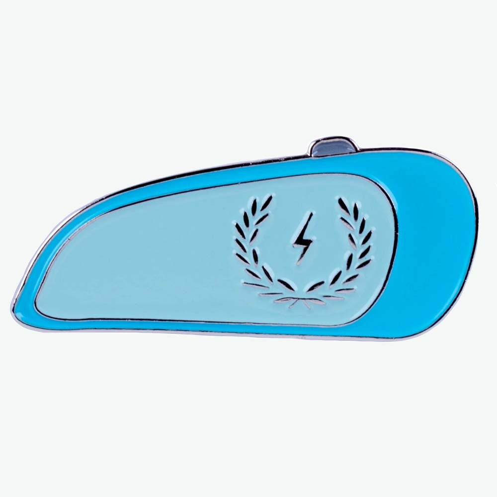 Christmas Holiday Promotion - Zeus Motorcycle Tank Enamel Pin