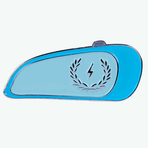 Load image into Gallery viewer, Christmas Holiday Promotion - Zeus Motorcycle Tank Enamel Pin
