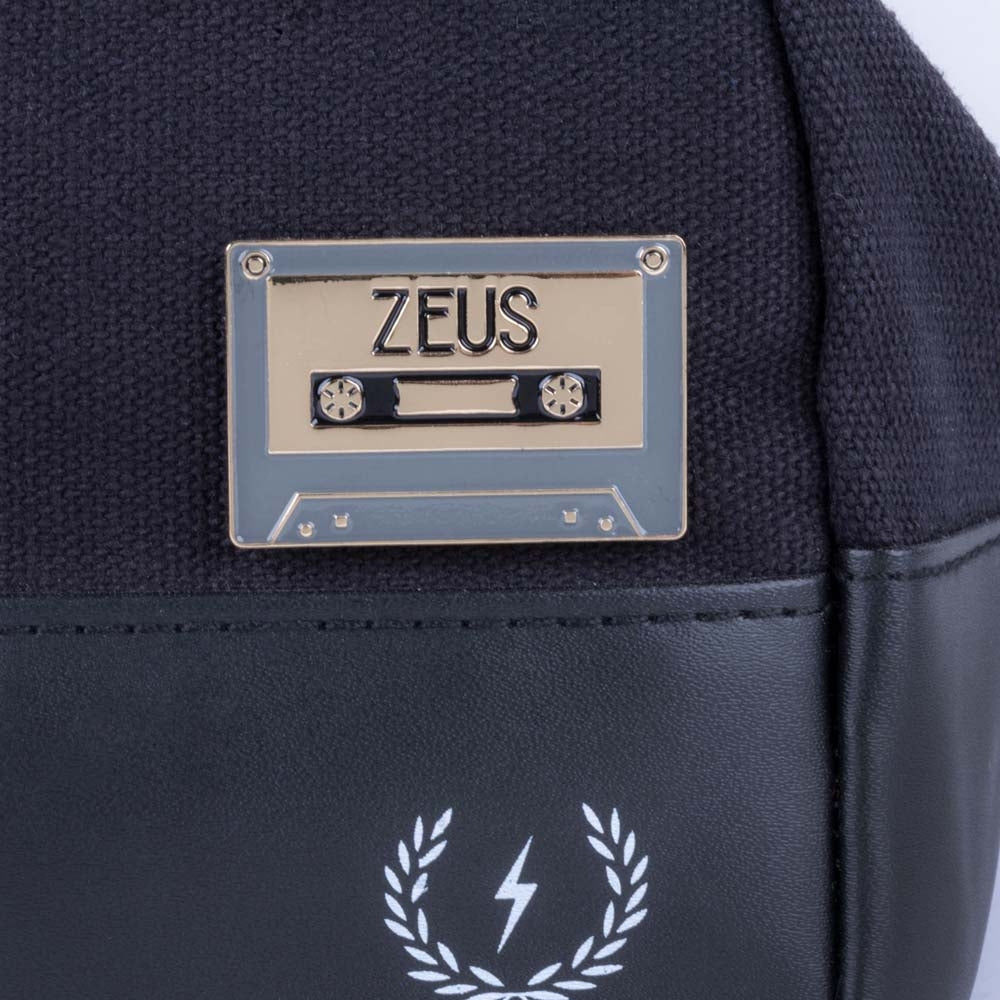 Load image into Gallery viewer, Zeus Cassette Tape Enamel Pin