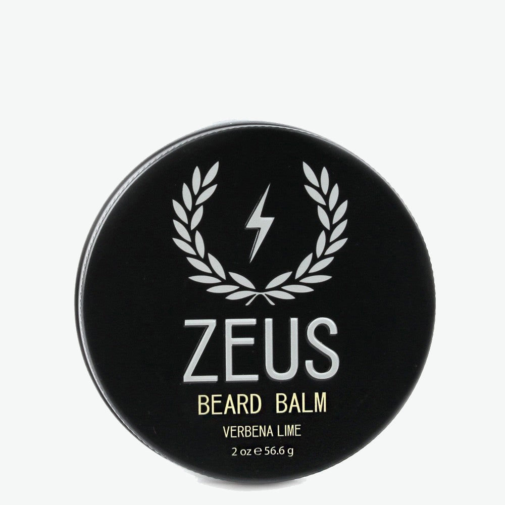 Beard Balm Conditioner, Zeus Verbena Lime 2 oz.