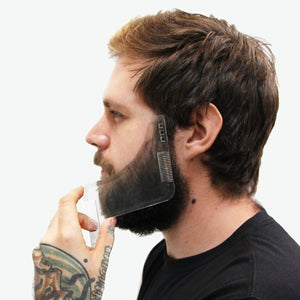 Zeus Shaping Tool and Beard Apron Hair Trimming Kit