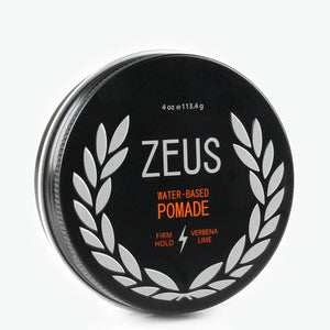 Firm Hold Pomade, Zeus Natural Verbena Lime