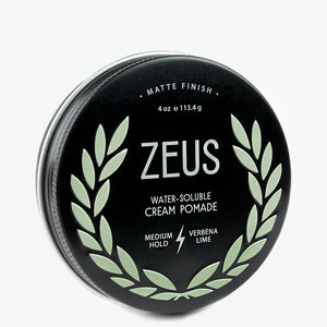 Load image into Gallery viewer, Cream Pomade, Zeus Natural Verbena Lime
