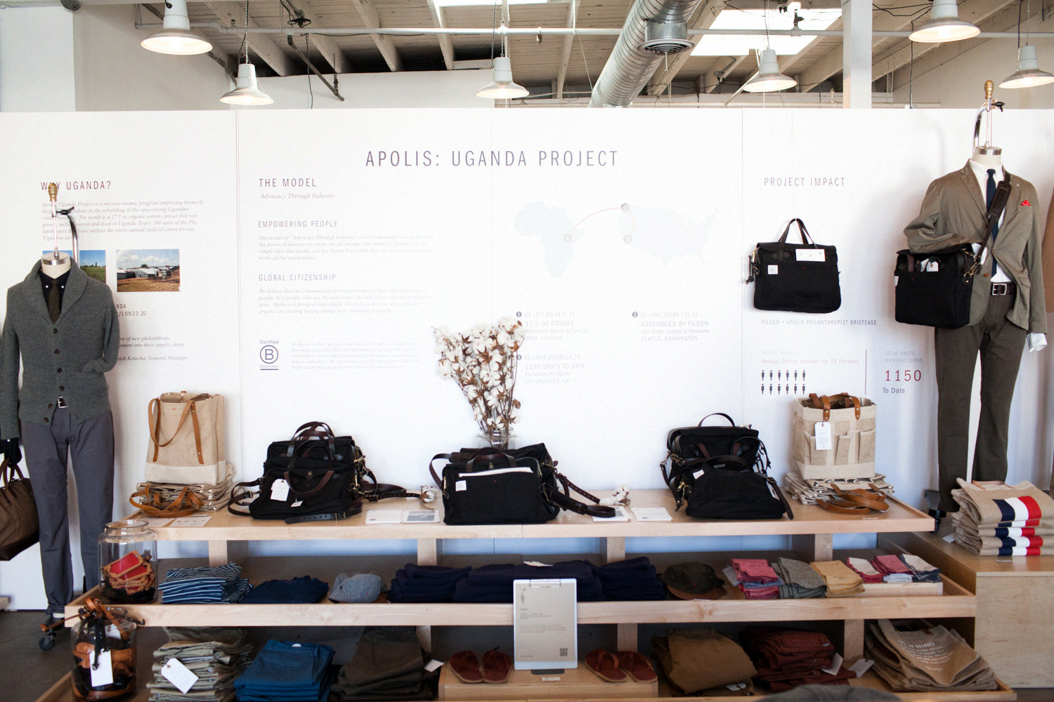 Apolis Store Display