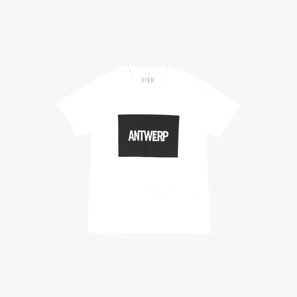 ANTWERP TEE WHITE