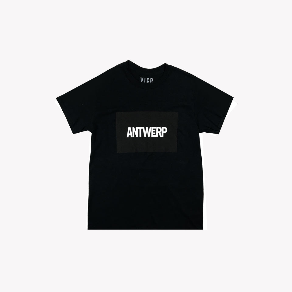 ANTWERP TEE BLACK
