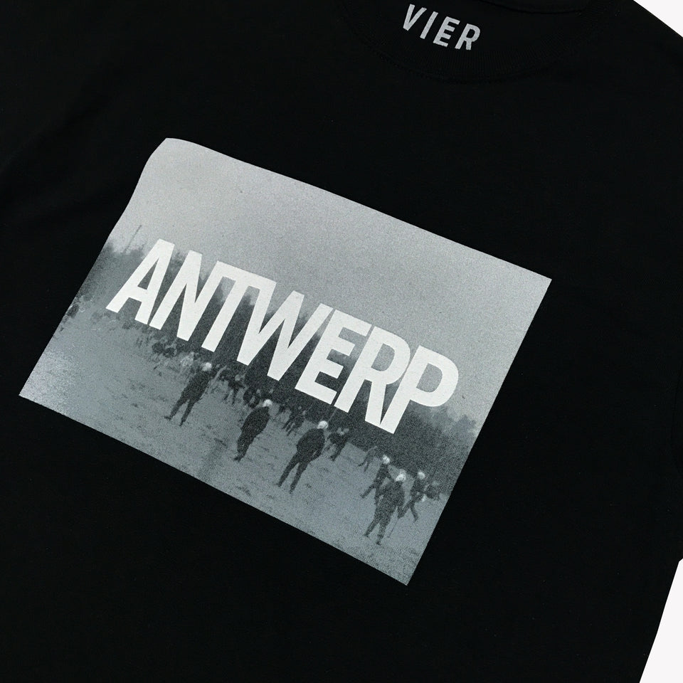ANTWERP PHOTO TEE BLACK