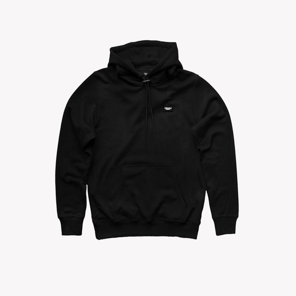 CLASSIC CORD STOPPER HOODIE BLACK