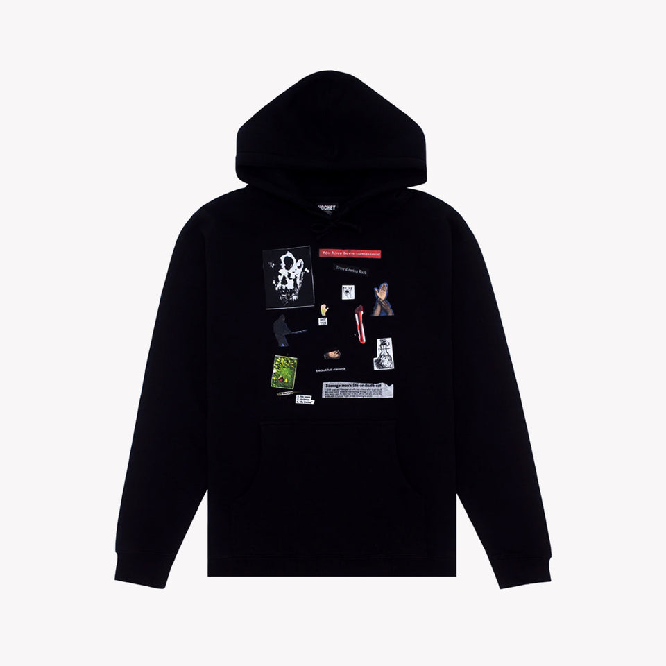 SUMMONED HOODIE BLACK