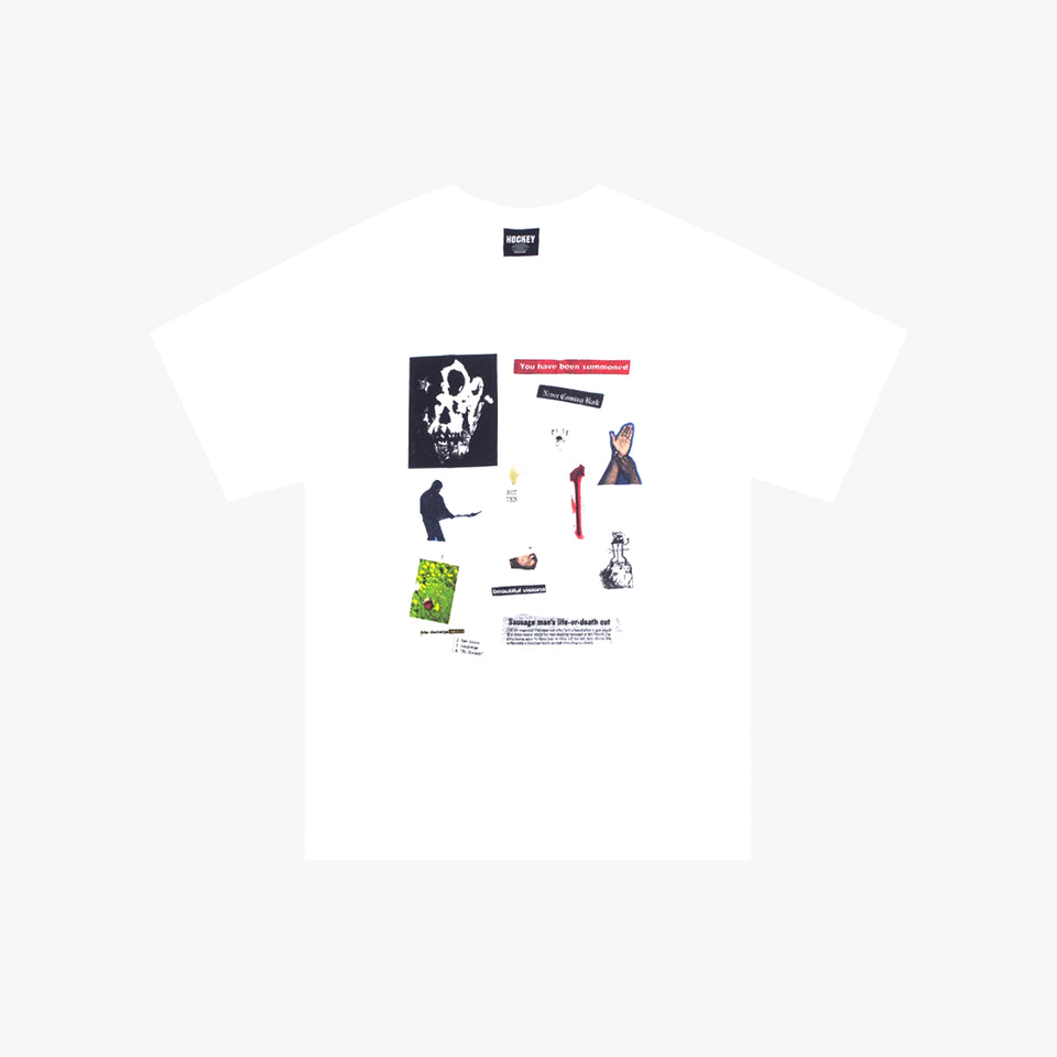 SUMMONED SS TEE WHITE
