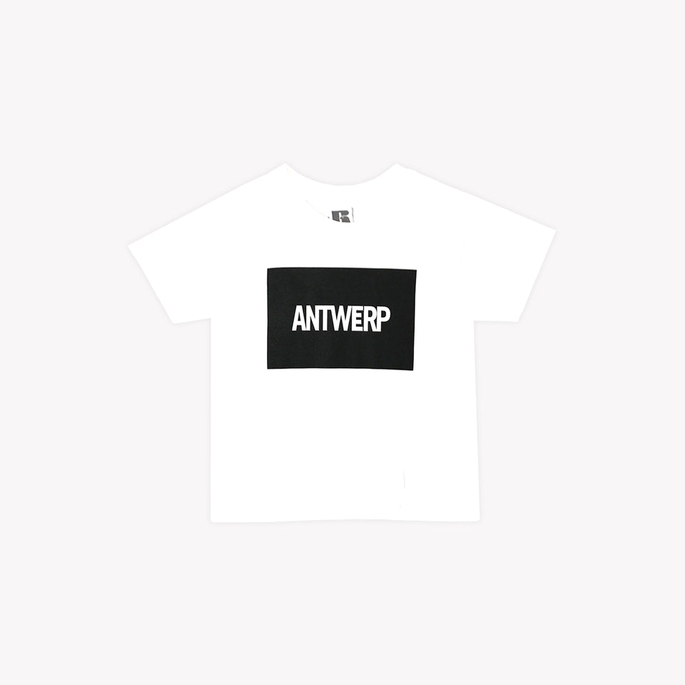 KIDS ANTWERP TEE WHITE