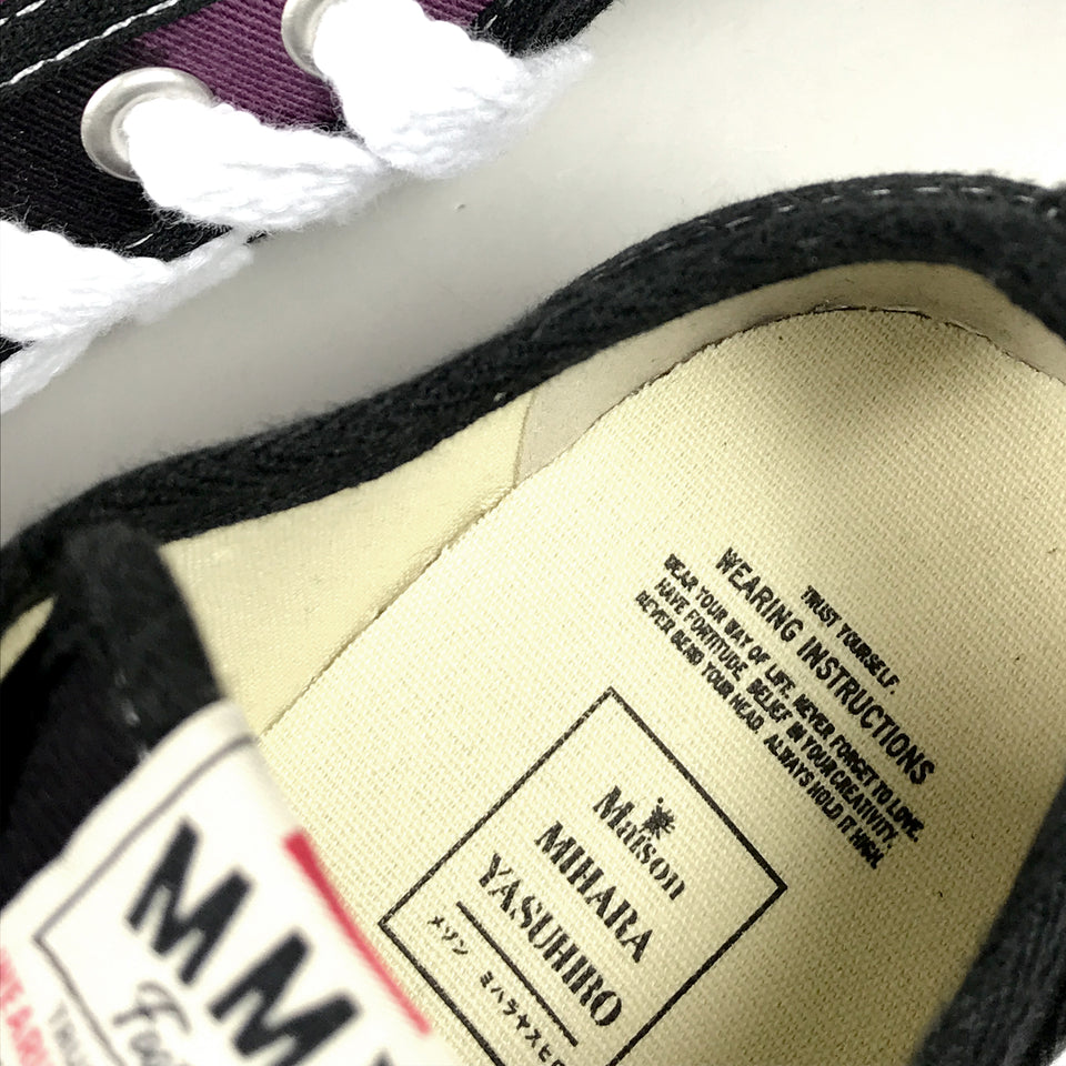 OG SOLE DYED LOW CUT SNEAKER