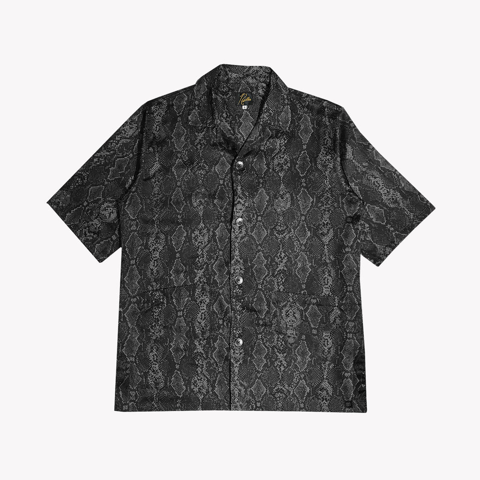 CABANA PYTHON SHIRT BLACK/GREY