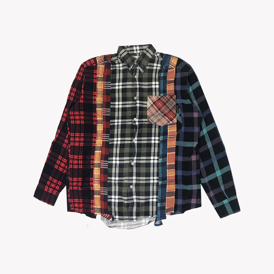 Copy of REBUILD 7-CUTS FLANNEL - M OPTION 001