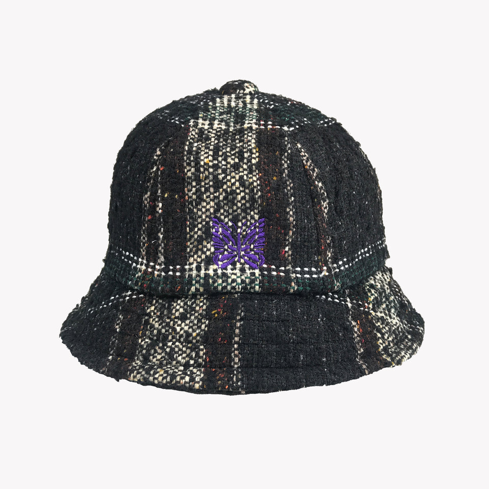STRUCTURE KNITTED BUCKET HAT