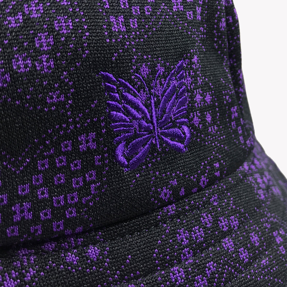 POLY-JACQUARD PAPILLON BUCKET HAT