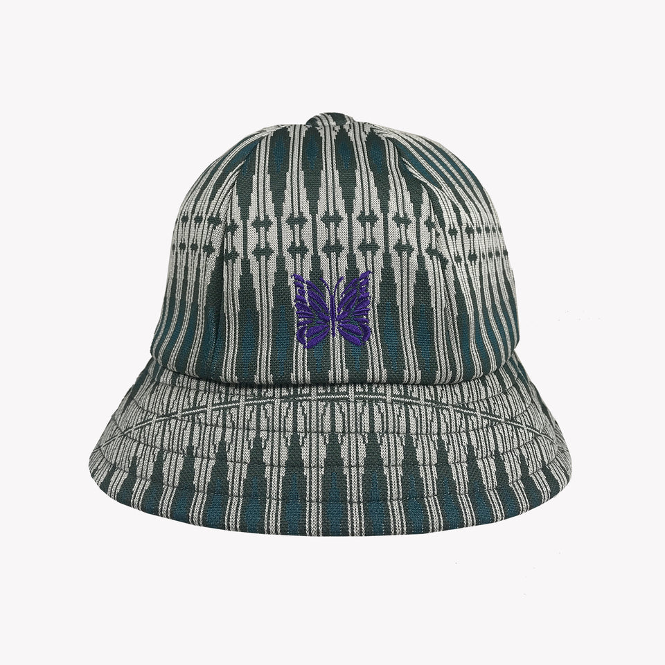 POLY-JACQUARD GEOMETRIC BUCKET HAT