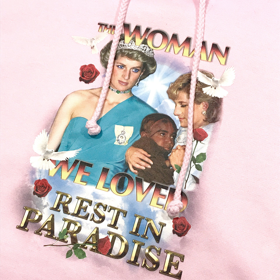 THE WOMAN WE LOVED HOOD PINK