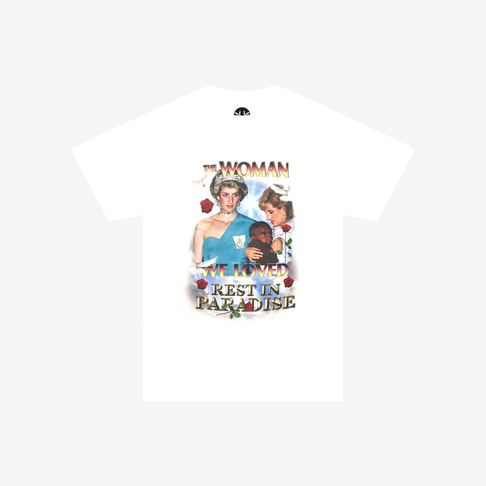 THE WOMAN WE LOVED SS TEE WHITE