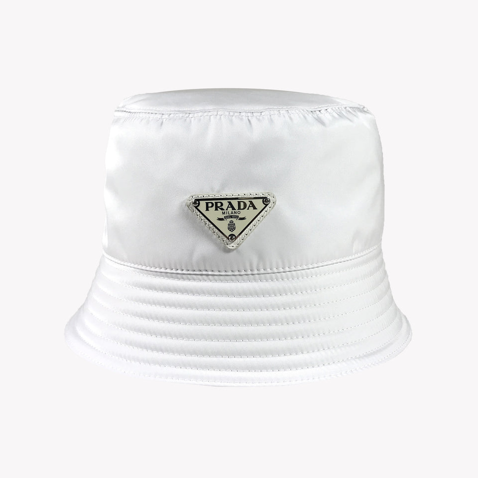 NYLON BUCKET HAT WHITE