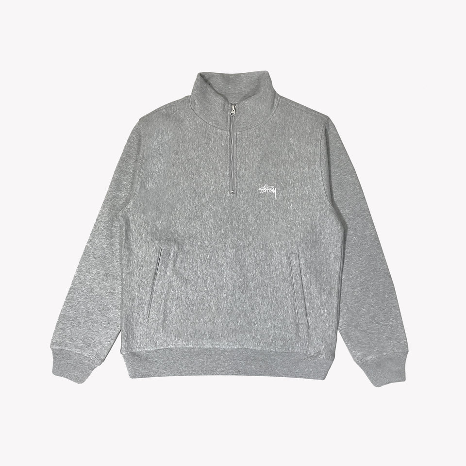 QUARTER ZIP FLEECE GREY