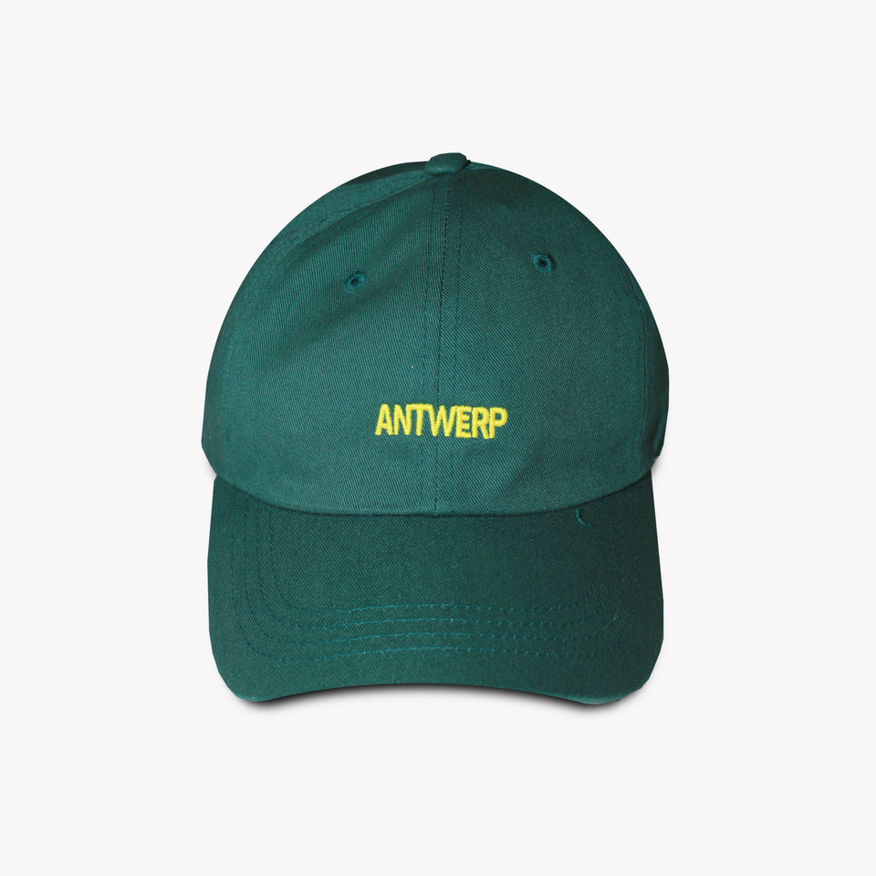 ANTWERP LOGO CAP GREEN