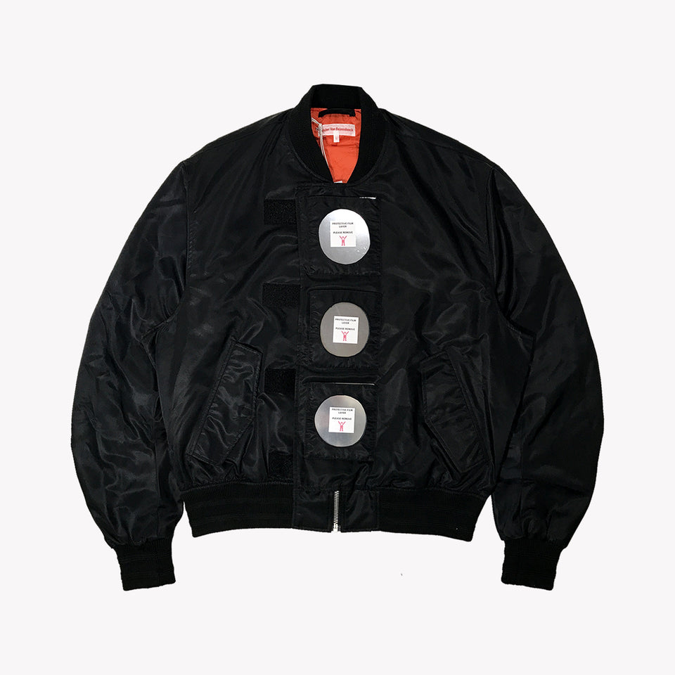 MIRROR BOMBER JACKET