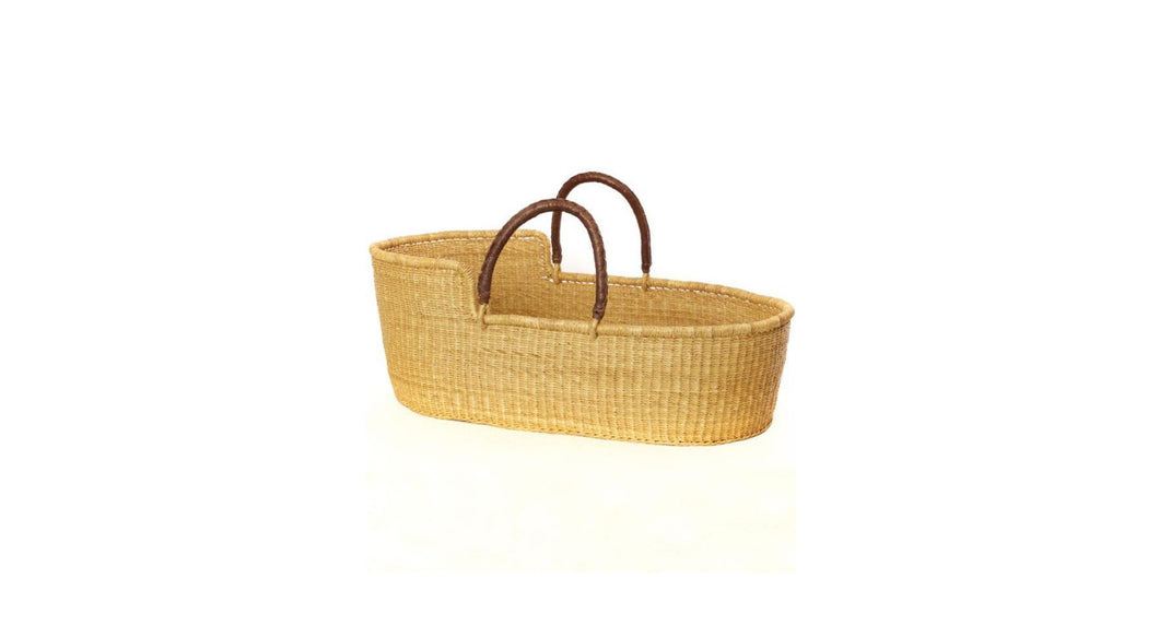 The Go-Anywhere Bassinet | Natural Moses Basket