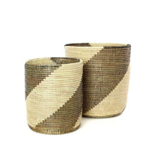 "Load image into Gallery viewer, 14-17"" Nesting Swirl Baskets 