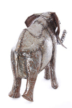 Load image into Gallery viewer, Recycled Metal Elephant Sculpture