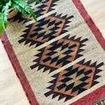 Load image into Gallery viewer, Kilim Jute Rug No. 1 | 3x5 or 2x3