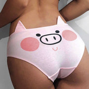 Pink Piggy Cotton Panties