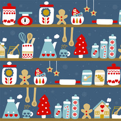 Christmas Pattern illustrated by Kathrin Legg