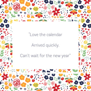 2021 Teacup Tea Towel Calendar