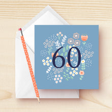 Load image into Gallery viewer, 60th Birthday Card