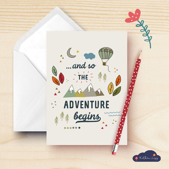 New Adventure Greeting Cards