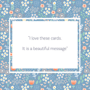 5 Pack Smart Beautiful Strong Greeting Cards