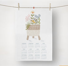 Load image into Gallery viewer, Tea Towel Calendar