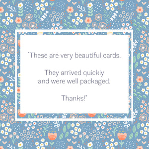 5 Pack Thankful for You Card Set