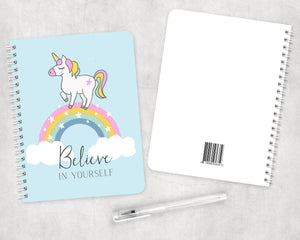 Unicorn Spiral Notebook