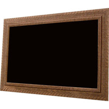 Load image into Gallery viewer, American Barnwood Black Chalkboard - Brown Barnwood Frame