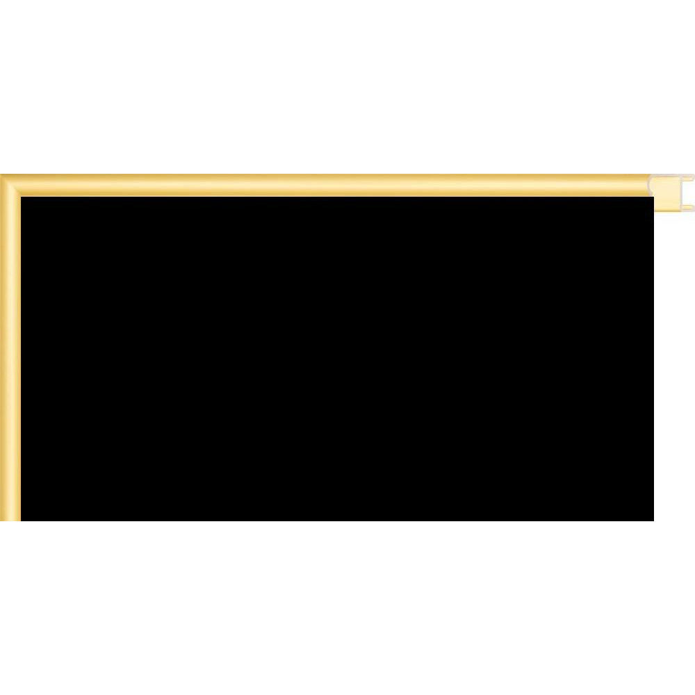 Black Chalkboard with Colored Metal Frames - Gold CM150004