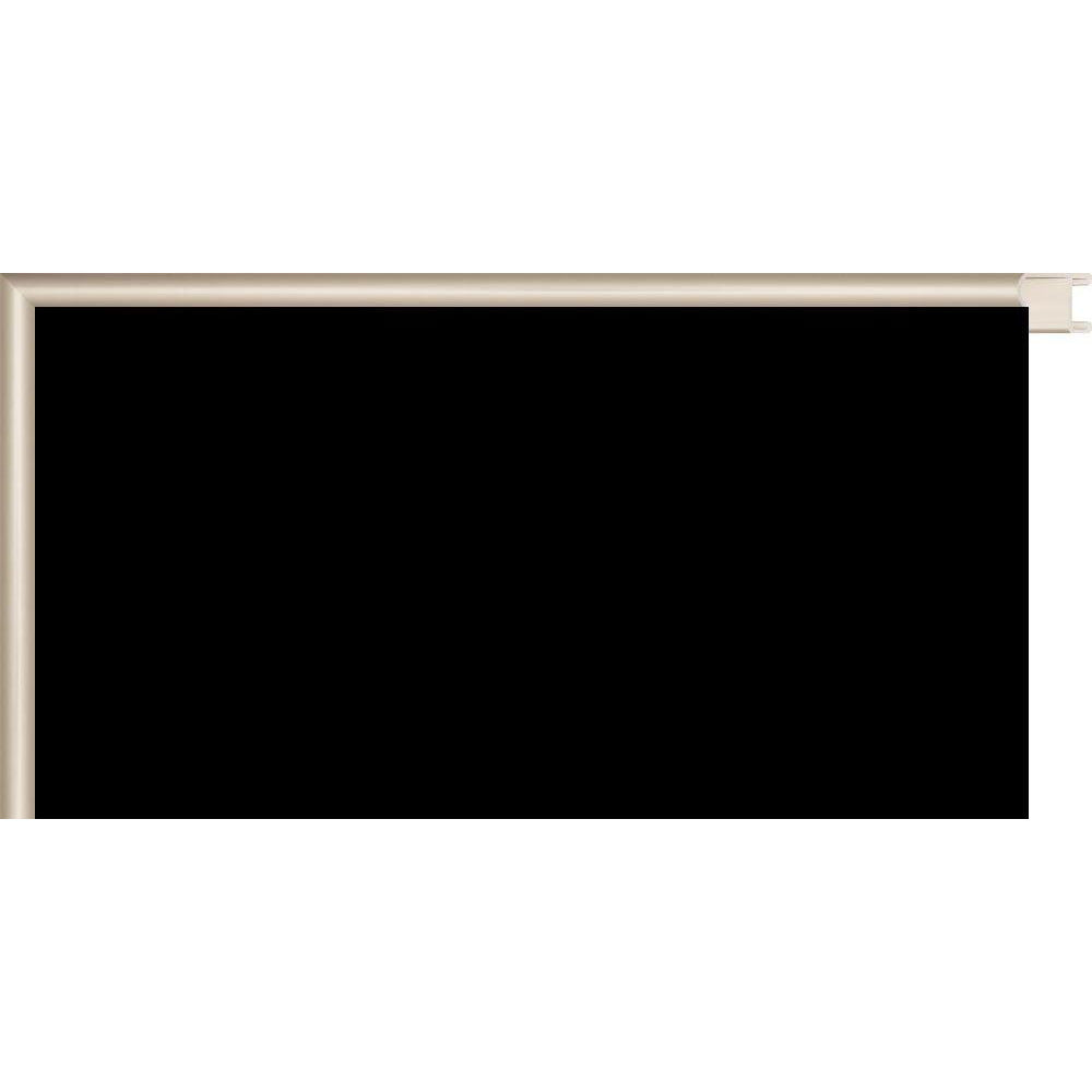 Black Chalkboard with Colored Metal Frames - Silver CM150005