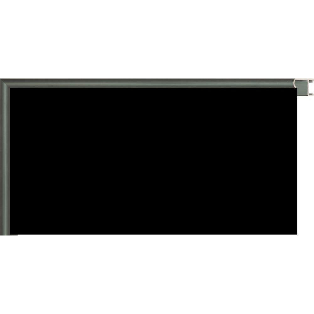 Black Chalkboard with Colored Metal Frames - Green CM150039