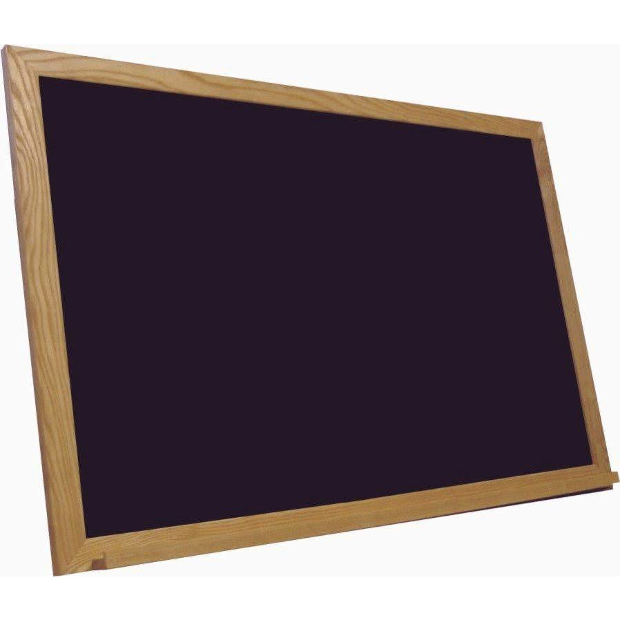 Economy Wood Framed Black Chalkboards - custom size